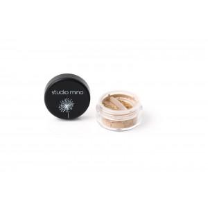 Minerale losse oogschaduw mat caramel